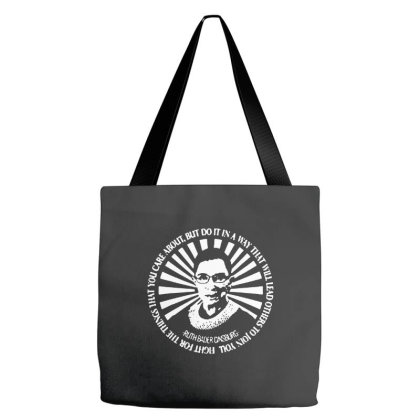 Ruth Bader Ginsburg   Be Independent Feminist Tote Bags Designed By Kimochi