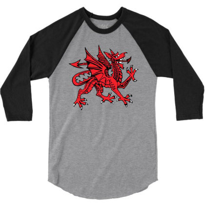 Reptile 3/4 Sleeve Shirt Designed By Huda Yofandreas