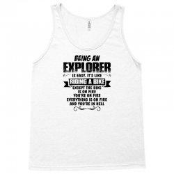 being an explorer copy Tank Top   Artistshot