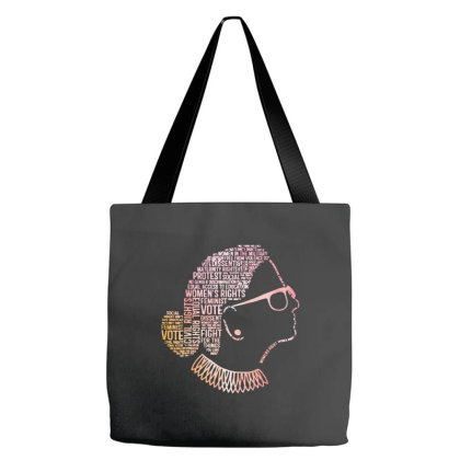 Notorious Rbg Shirt Ruth Bader Ginsburg Quotes Tote Bags Designed By Kimochi