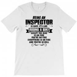 being an inspector copy T-Shirt | Artistshot