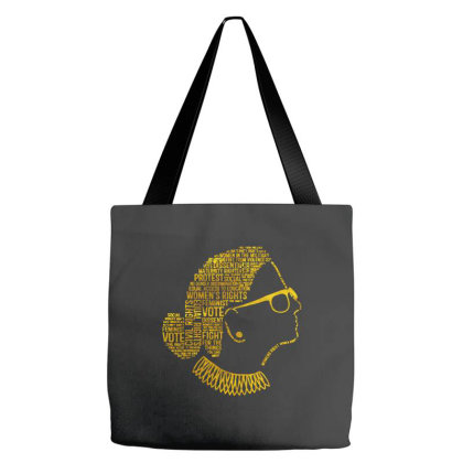 Notorious Rbg Quote Tote Bags Designed By Kimochi