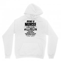 being a nurse copy Unisex Hoodie | Artistshot
