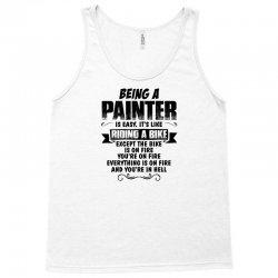 being a painter copy Tank Top | Artistshot