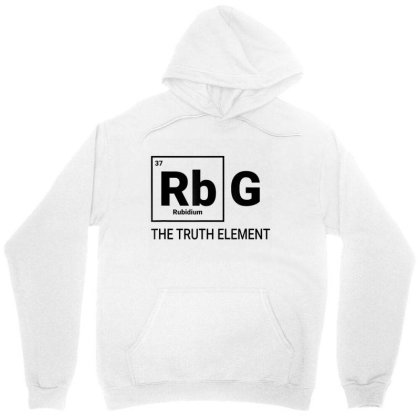 Rbg The Element Of Truth Periodic Table Unisex Hoodie Designed By Kakashop