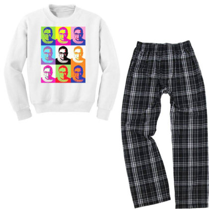 Notorious Youth Sweatshirt Pajama Set Designed By Tht