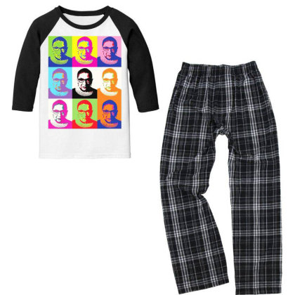 Notorious Youth 3/4 Sleeve Pajama Set Designed By Tht