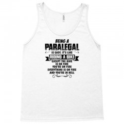 being a paralegal copy Tank Top   Artistshot