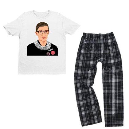 Feminist I Dissent Youth T-shirt Pajama Set Designed By Tht