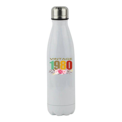 Vintage 1980 Stainless Steel Water Bottle Designed By Alparslan Acar