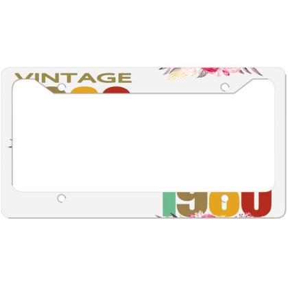 Vintage 1980 License Plate Frame Designed By Alparslan Acar
