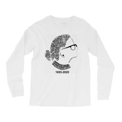 Ruth Bader Ginsburg Long Sleeve Shirts Designed By Tht