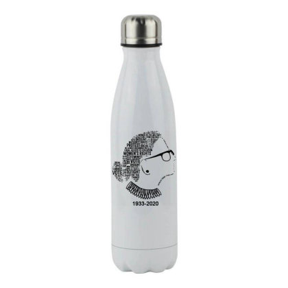 Ruth Bader Ginsburg Stainless Steel Water Bottle Designed By Tht
