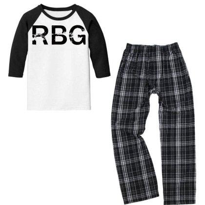 Rbg Dissent Anti Trump Youth 3/4 Sleeve Pajama Set Designed By Tht