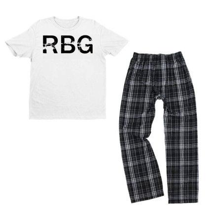 Rbg Dissent Anti Trump Youth T-shirt Pajama Set Designed By Tht