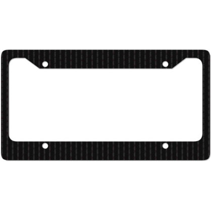 Defund The Media - Political Gift Idea License Plate Frame Designed By Diogo Calheiros