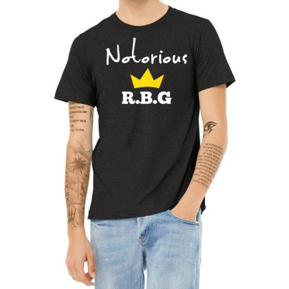 Ruth Bader Ginsburg Feminist Heather T-shirt Designed By Tht