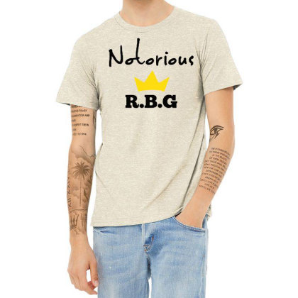 Notorious Rbg Ruth Bader Ginsburg Feminist Heather T-shirt Designed By Tht
