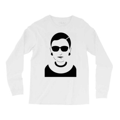 Notorious  Ginsburg Long Sleeve Shirts Designed By Tht