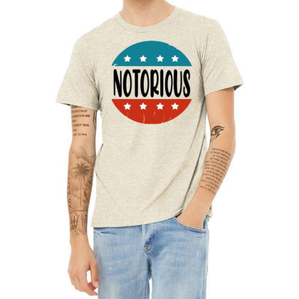 Notorious Rbg Vintage Heather T-shirt Designed By Tht