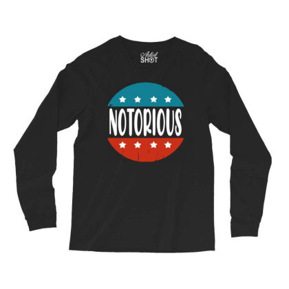 Notorious Rbg  Vintage Long Sleeve Shirts Designed By Tht