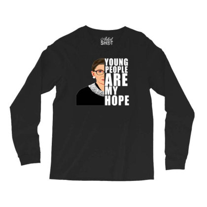 Young People Are My Hope Long Sleeve Shirts Designed By Alparslan Acar