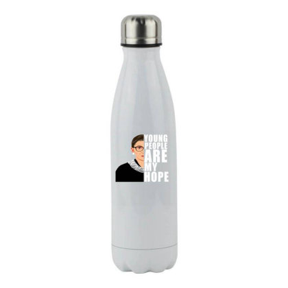 Young People Are My Hope Stainless Steel Water Bottle Designed By Alparslan Acar