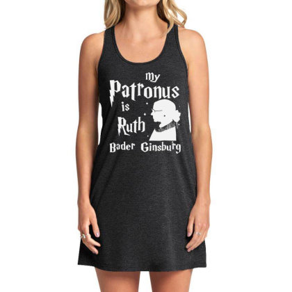 My Patronus Is Ruth Bader Ginsburg Tank Dress Designed By Tht