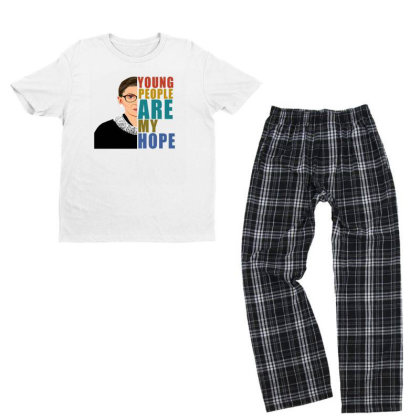Young People Are My Hope Youth T-shirt Pajama Set Designed By Alparslan Acar
