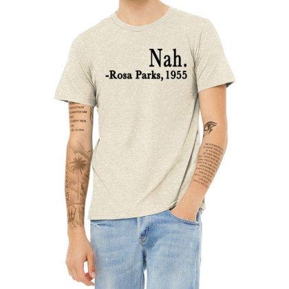 Nah Rosa Parks Heather T-shirt Designed By Alparslan Acar
