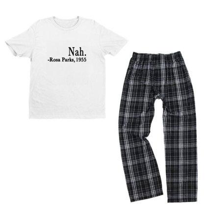Nah Rosa Parks Youth T-shirt Pajama Set Designed By Alparslan Acar