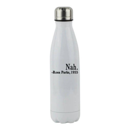 Nah Rosa Parks Stainless Steel Water Bottle Designed By Alparslan Acar