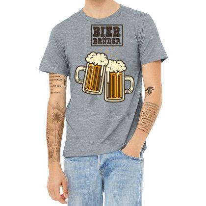 Bier Bruder Heather T-shirt Designed By Chiks