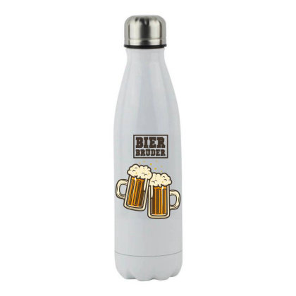 Bier Bruder Stainless Steel Water Bottle Designed By Chiks