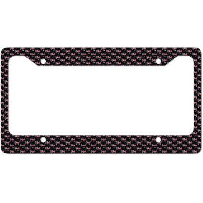 Boo Halloween Costume Spiders, Ghosts, Pumkin & Witch Hat License Plate Frame Designed By Conco335@gmail.com