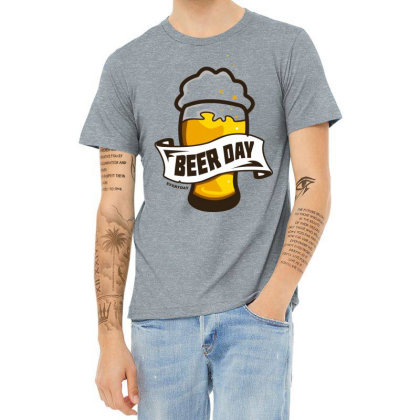 Everyday Is Beer Day Heather T-shirt Designed By Chiks