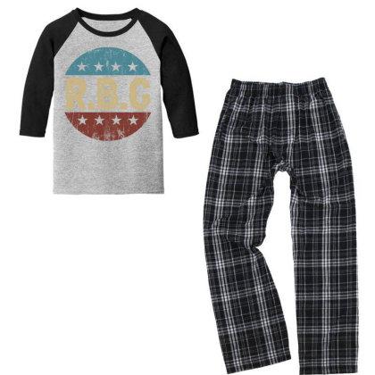 Rbg Notorius Youth 3/4 Sleeve Pajama Set Designed By Sengul
