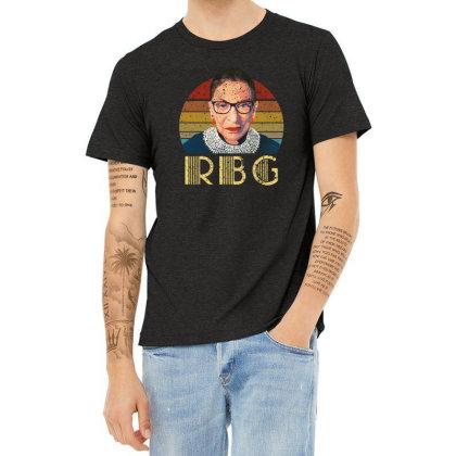 Vintage Rbg Ruth Bader Heather T-shirt Designed By Sengul