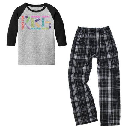 Rg Notorious Youth 3/4 Sleeve Pajama Set Designed By Sengul