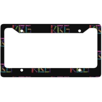 Rg Notorious License Plate Frame Designed By Sengul