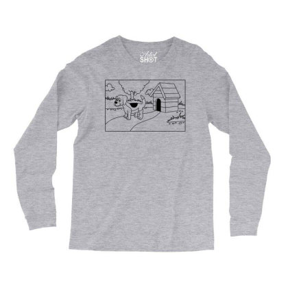 Beagle Dog Long Sleeve Shirts Designed By Chiks