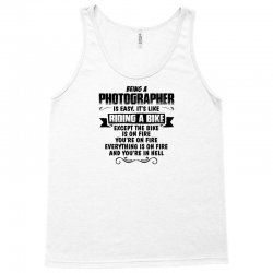 being a photographer copy Tank Top | Artistshot