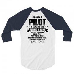 being a pilot copy 3/4 Sleeve Shirt | Artistshot