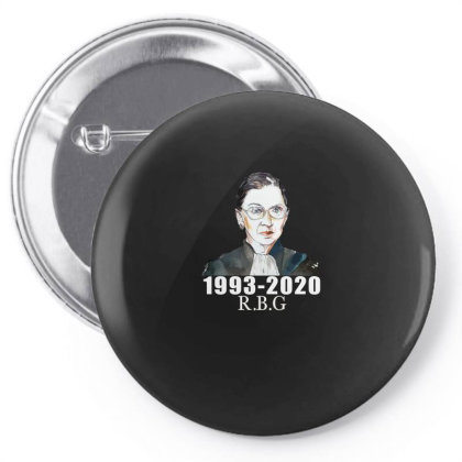 Ruth Bader Ginsburg Pin-back Button Designed By Alparslan Acar
