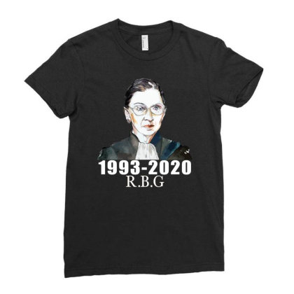 Ruth Bader Ginsburg Ladies Fitted T-shirt Designed By Alparslan Acar