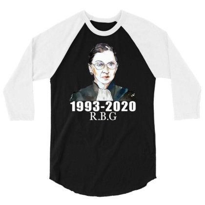Ruth Bader Ginsburg 3/4 Sleeve Shirt Designed By Alparslan Acar