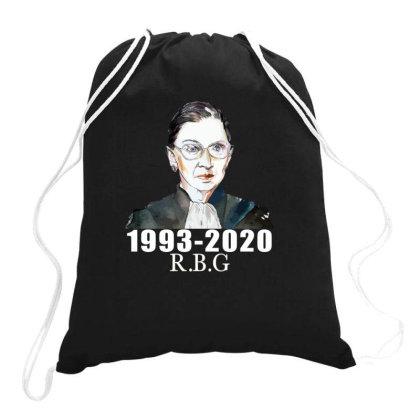 Ruth Bader Ginsburg Drawstring Bags Designed By Alparslan Acar