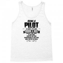 being a pilot copy Tank Top | Artistshot