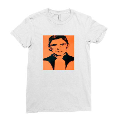 Ruth For President Ladies Fitted T-shirt Designed By Alparslan Acar