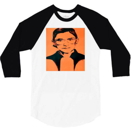 Ruth For President 3/4 Sleeve Shirt Designed By Alparslan Acar